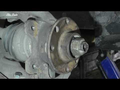 Замена подшипника передней ступицы Daewoo Lanos ZAZ Lanos