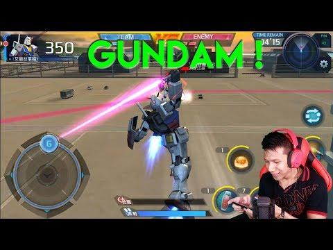 Mobile Suit Gundam !!! SUMPAH Ini Game Keren Banget ! Impian Setiap Cowok !
