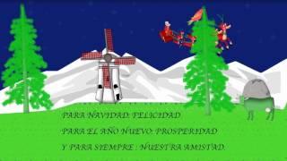 postal de navidad animada gratis para enviar 4