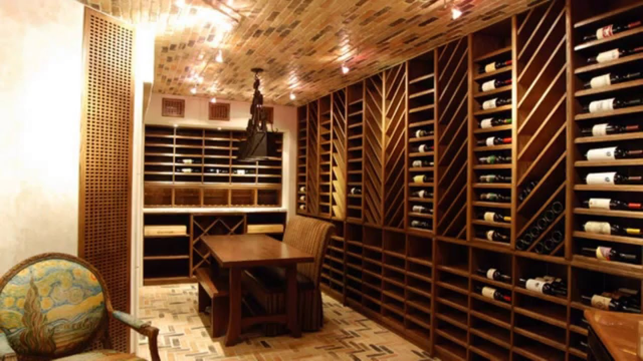 Wine Cellar Ideas - YouTube