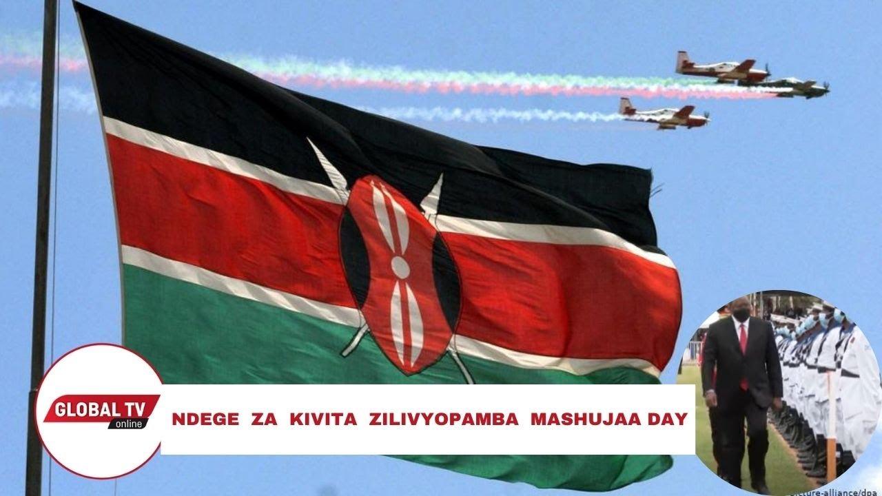 Download UTAPENDA! NDEGE ZA KIVITA ZILIVYOPAMBA MASHUJAA DAY, KILA MTU AVUTIWA..