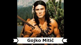 "Gojko Mitić als Häuptling Ulzana in dem DEFA-Film ""Apachen"""