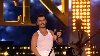 Your Face Sounds Familiar - Sławomir as Freddie Mercury (Queen) - Twoja Twarz Brzmi Znajomo