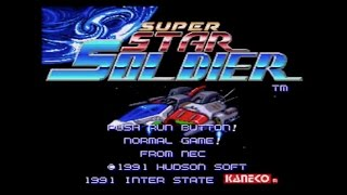 SUPER STAR SOLDIER (Wii U Virtual Console)- Gameplay Footage (Caravan)