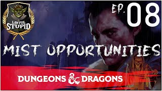 D&D | Curse of Strahd: Episode 08 | Lawful Stupid RPG