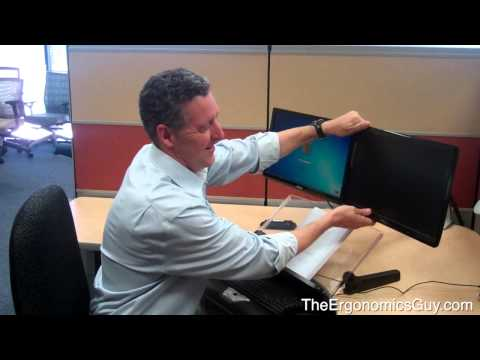 The Ergonomics Guy - Dual Monitor Ergonomics Setup So They Aren't a Pain in The Neck