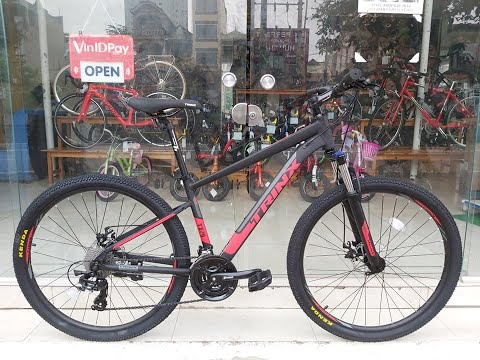 [TOAN THANG CYCLES] Xe đạp địa hình TrinX TX20 27.5 2020 Đen Đỏ