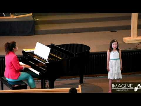 Imagine Music Inc. student - Ella performing: Bed on a Boat & Imagine