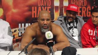 david haye is next shannon briggs post fight press conference after brutal stoppage over zarate