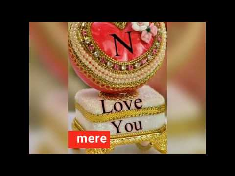 N letter love WhatsApp status video //💖 sumi collection 💖