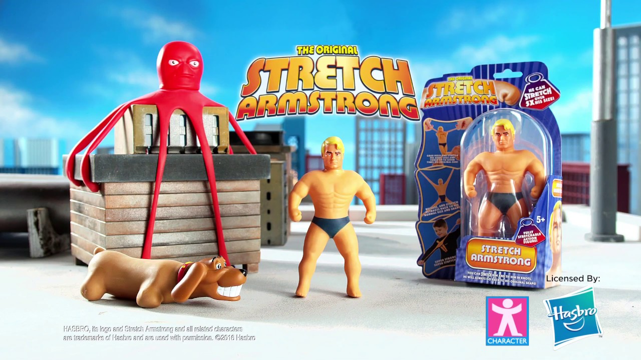 Stretch armstrong fetch armstrong and 7 stretch octopus for Take me fishing org