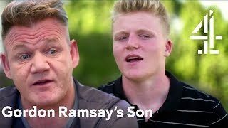 Gordon Ramsay's Son Goes Back to His Dad's Humble Roots   Born Famous