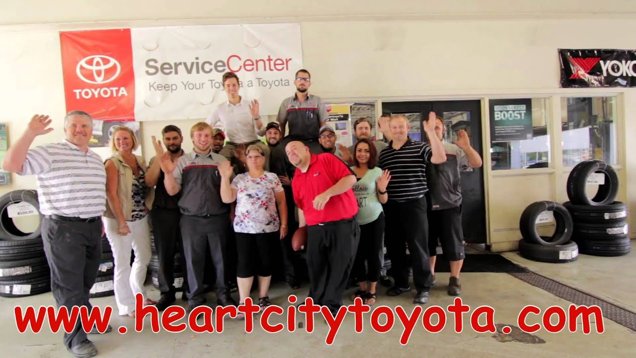 Heart City Toyota >> Be Treated Like A Champion Everyday At Heart City Toyota Scion Youtube