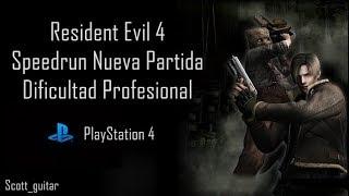 "Resident evil 4 Speedrun NG Pro PS4 PB ""1:47:41"""
