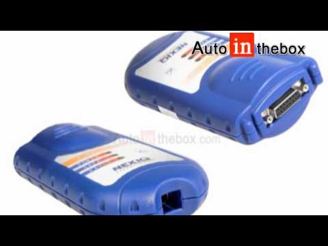 NEXIQ 125032 USB Cable Link for ECU Chip Tuning + Software Diesel Truck Diagnose Interface