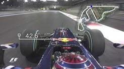 Sebastian Vettel's Lap Record at Yas Marina   Abu Dhabi Grand Prix 2009