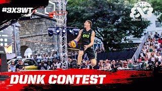 Best Dunk Contest of the season? | Miller vs. Smoove vs. ArO | FIBA 3x3 World Tour Lausanne 2017