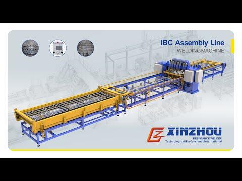 IBC gird welding machine with auto moving