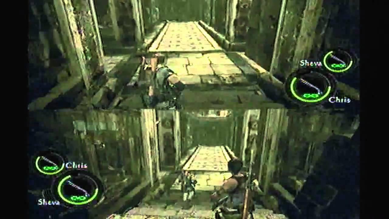 Resident Evil 5 Professional Mode Split Screen Part 9 Chp 4 1