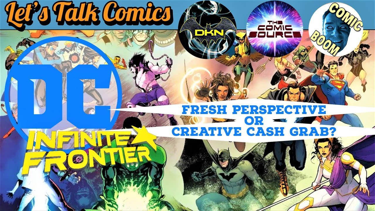 DC COMICS INFINITE FRONTIER and the AFTERMATH OF FUTURE STATE | Let's Talk Comics