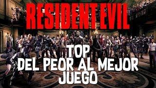 Resident Evil || TOP - Del peor al mejor juego de la saga