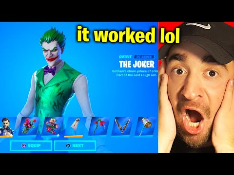 How To Get LAST LAUGH Bundle FREE! (Fortnite Joker Skin)
