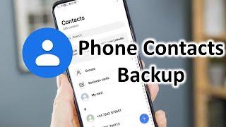 How to Backup and Restore Phone Contacts | Hindi 2021 screenshot 4