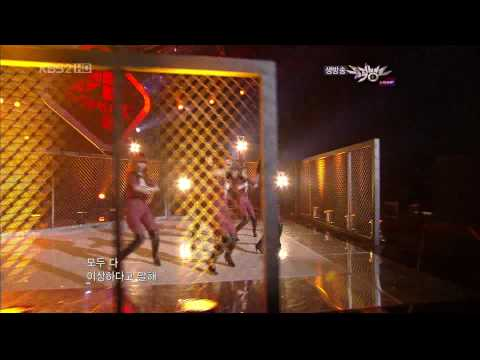 4Minute - Huh (Hit Your Heart) - 100528 Music Bank [1080p]