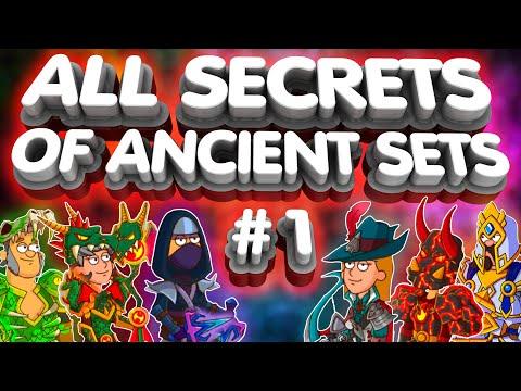 All Secrets Of Sets💥#1💥Hustle Castle