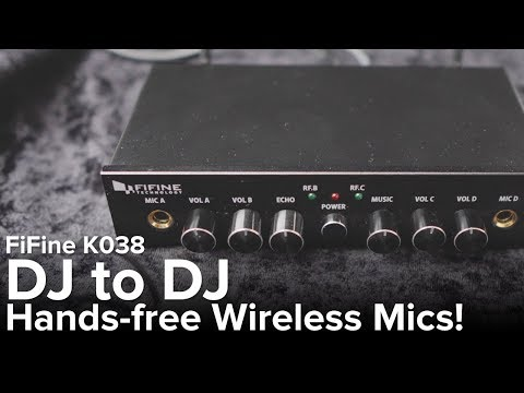 new-budget-wireless-handsfree-microphone!-|-demo-&-review-|-fifine-k038