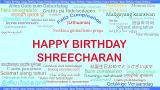 Shreecharan   Languages Idiomas - Happy Birthday