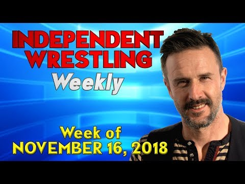 David Arquette Fights for a Championship! | Independent Wrestling Weekly (Week of November 16, 2018)