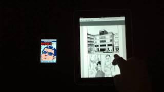 電子貸本「Renta!」をiPhone,iPadで見てみた 川元由香 動画 3