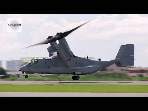 Typhoon Haiyan/Yolanda - U.S. Marines MV-22, Japanese Medical Team Humanitarian Aid