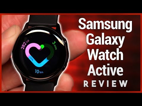Samsung Galaxy Watch Active Review - Fitness Tracker Smartwatch