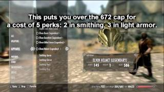 Baixar Skyrim TS # 5 - Elven Armor, Hitting the Cap with Perks, Shields, Enchantments