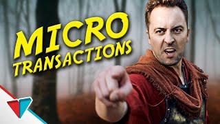 Micro Transactions - Epic NPC Man (EA Star Wars battlefront 2 parody)   Viva La Dirt League (VLDL)