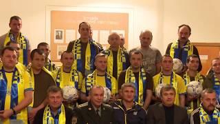 Керівництво ФФУ та тренери збірних відвідали Головний військовий госпіталь