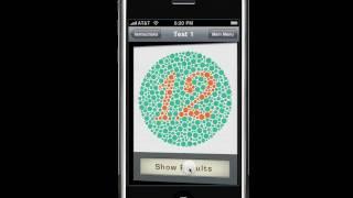 EyeXam iPhone app