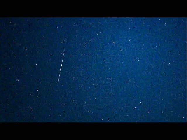 【ライブ中継中】ふたご座流星群、見えた!今夜がピーク