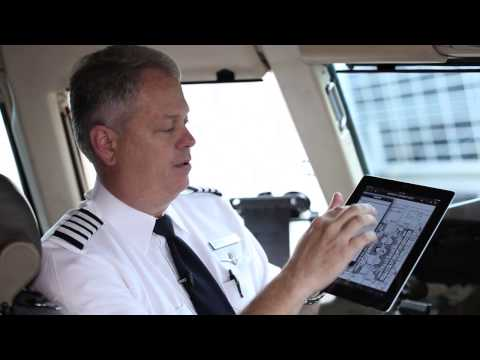 Apple's iPad Officially Replaces Pilot Flight Bags in All American Airlines Cockpits