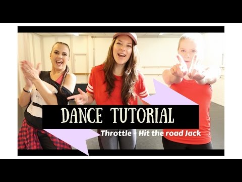 Dance tutorial: Throttle - Hit the road Jack, dance around the world