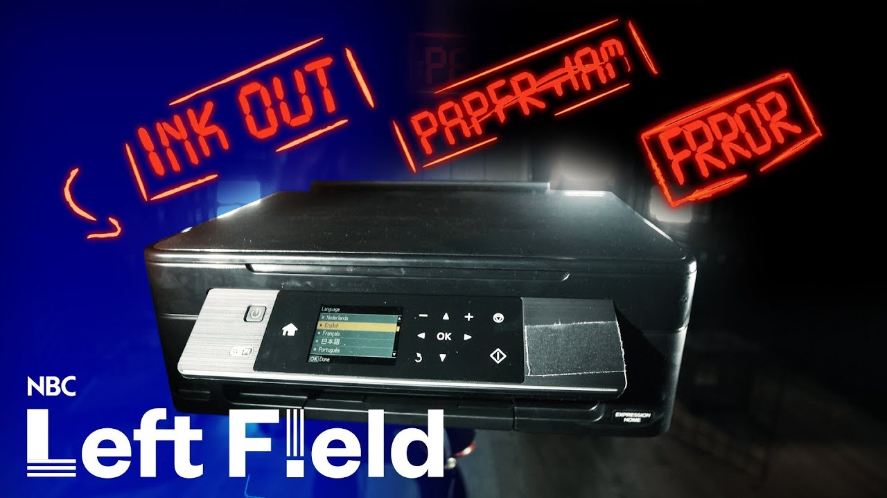 Why Are Printers So Terrible? | NBC Left Field