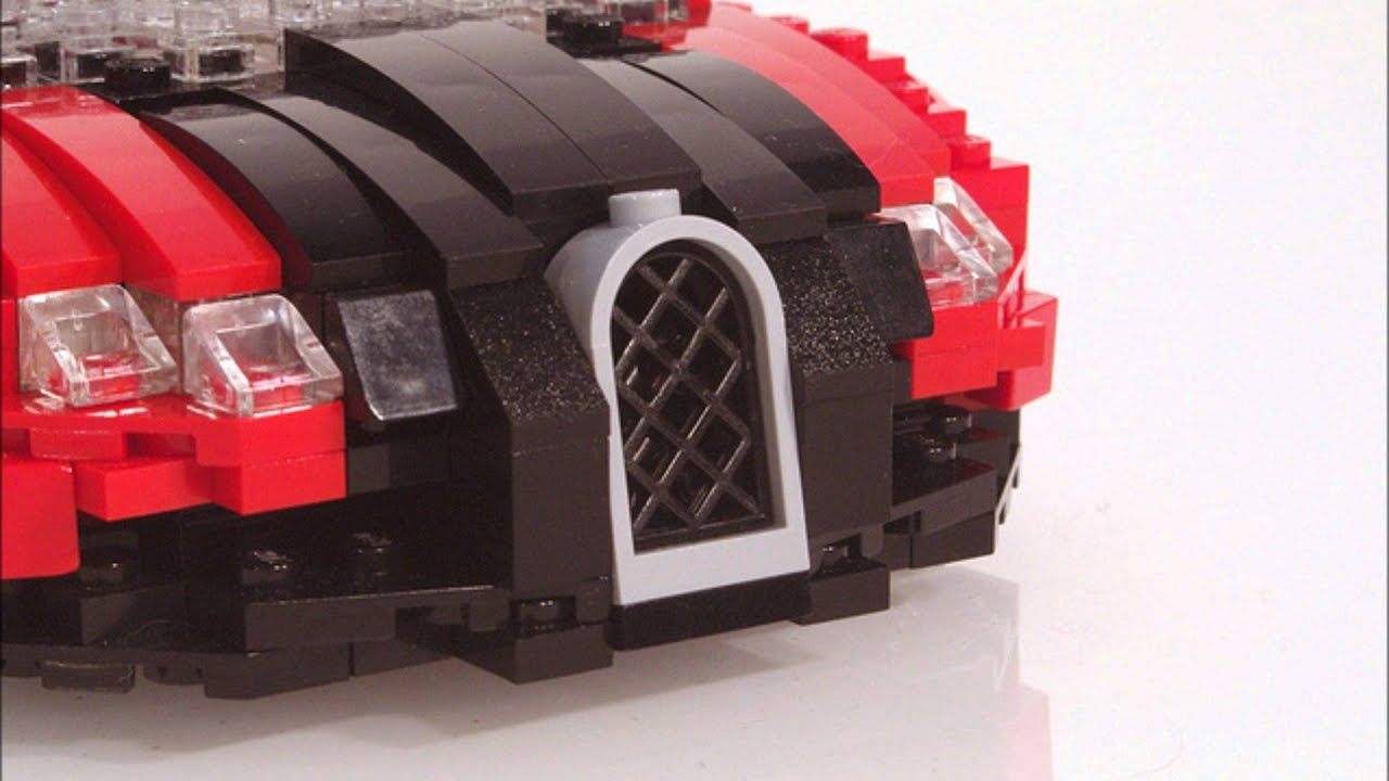 how to make lego lamborghini doors