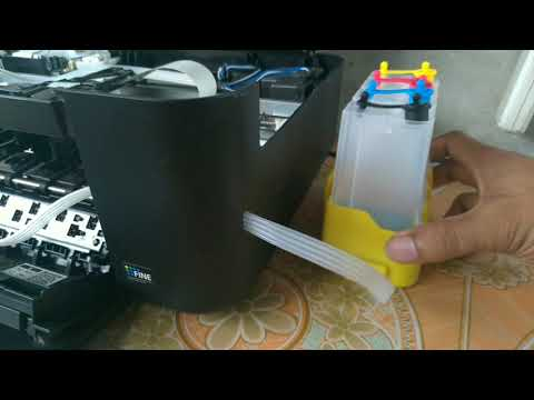 CANON PIXMA | How To Install DIY Continues Ink Modify