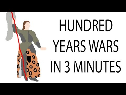 Hundred Years War | 3 Minute History