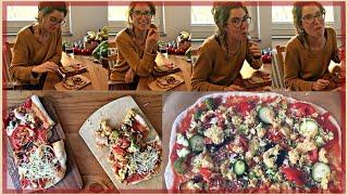 Vegane Pizza Käseersatz | Teig selbstgemacht | der Vergleich mit unveganer Pizza