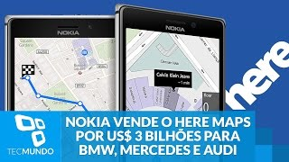 Nokia vende HERE Maps para BMW, Mercedes e Audi