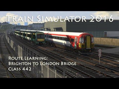 Train Simulator 2016 - Route Learning: Brighton to London Bridge (Class 442)
