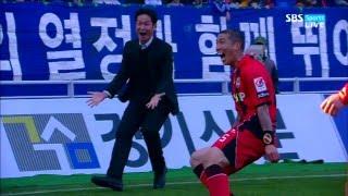 FC서울 최용수 감독 - 베스트 골 세리머니 모음ㅣFC Seoul Manager Choi Yongsoo - Best Goal Celebrations (2011–2015)
